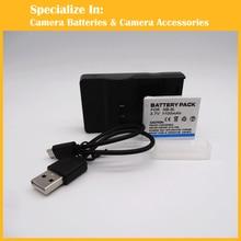1x NB-6L + 1x charger for Canon SX520 HS SX530 SX600 SX610 SX700 SX710 IXUS 85 95 200 210 105
