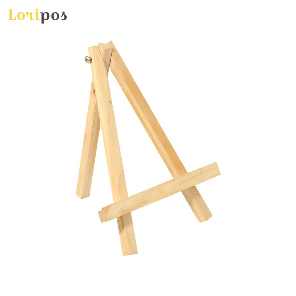 Large Easel Desktop Oil Paiting Bracket Wooden Mini Wood Display Easel Wood Easels Set For Paintings Craft Small Plate Holder