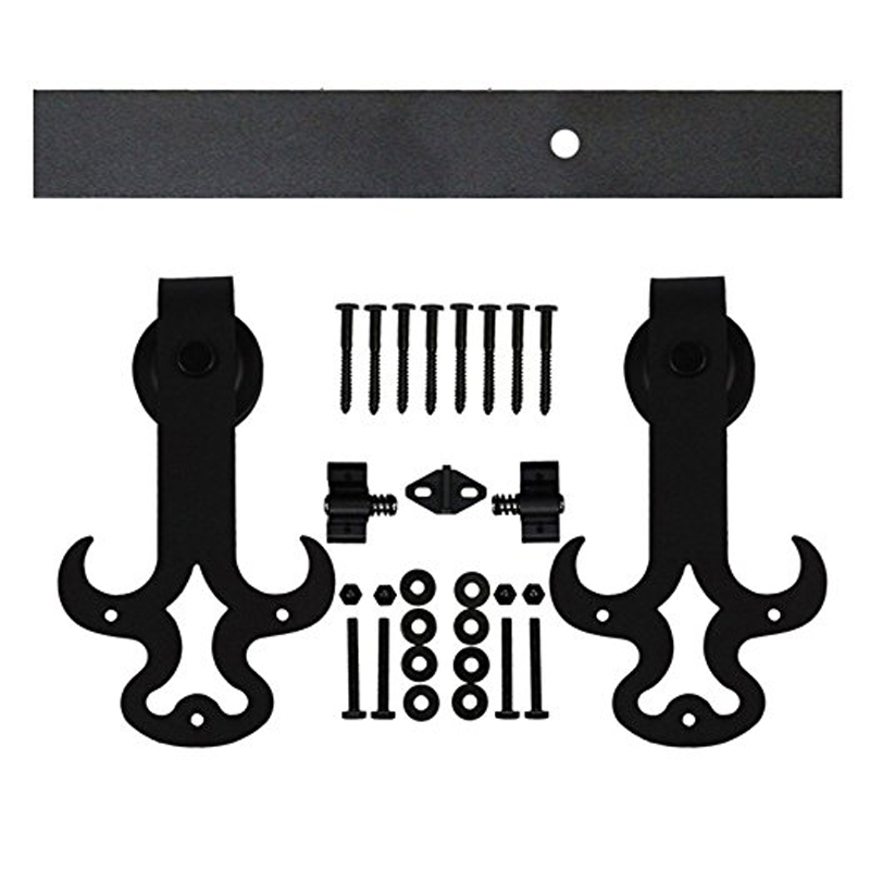 Ship from USA 6 16 FT Feet Flat Track Barn Door Hardware ...