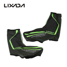 Lixada Waterproof Cycling Shoe Covers Copriscarpe Ciclismo Thermal MTB Road Bicycle Bike Shoe Covers Overshoes Warm Boot Cover