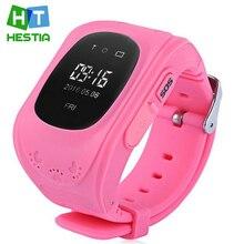 HESTIA Q50 Smartwatch Anti Verloren GPS Tracker Für Kinder SOS GSM handy app für ios & android smart watch armband alarm