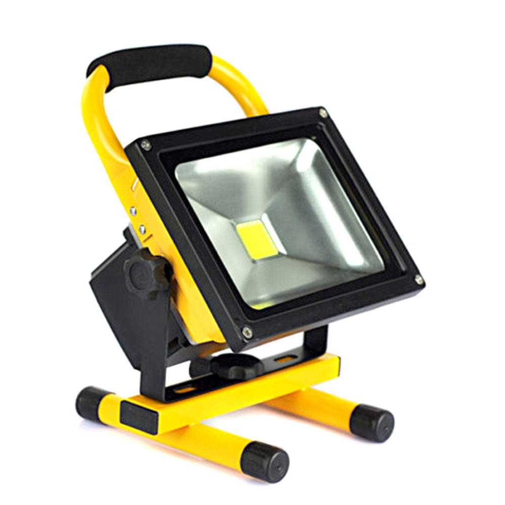 Outdoor Lights Portable: Led Flood Lights Rechargeable 30W 50W Floodlight Portable