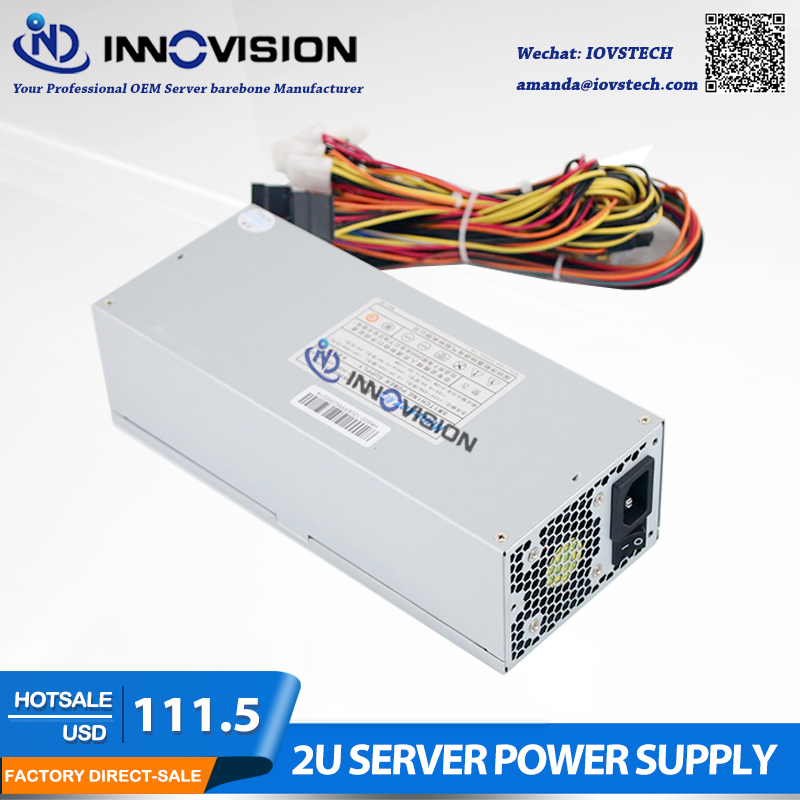 High efficiency Max output 600W industrial Power Supply P S HK600 for 2U 3U Case 2U