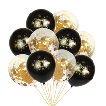 10Pcs Birthday Party Decoration Happy Latex Balloons Boy Girl Supplies Confetti Balloon Baby Shower