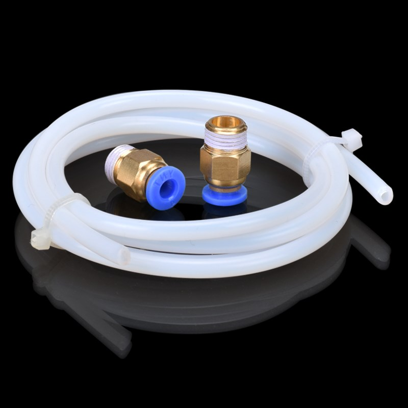 3D Printer Parts 1meter PTFE Teflon Long Distance Feed Tube for 1.75 mm/3.0mm Filament RepRap Makerboat delta i3 free shipping free shipping ptfe stir rod for overhead stirrer