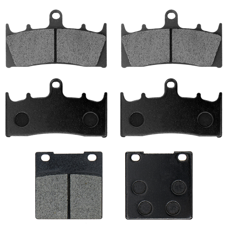 For SUZUKI GSX 1300 R GSX1300R Hayabusa GSXR1300 1999 2000 2001 2002 2003 2004 2005 2006 2007 Motorcycle Brake Pads Front Rear motorcycle front and rear brake pads for yamaha xvs 1300 ctw ctx v star 1300 tourer 2007 2010 black brake disc pad