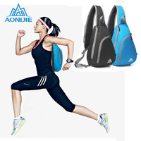 AONIJIE Foldable Waterproof Bag Unisex Triangle Bag One-shoulder Pack Messenger Portable   Running   Bag