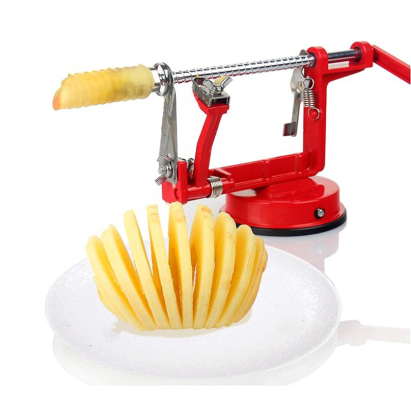 Multifunction Apple Peeler Stainless Steel Fast Cut Fruit peel slicer creative household Kitchen fruit vegetables organizer tool
