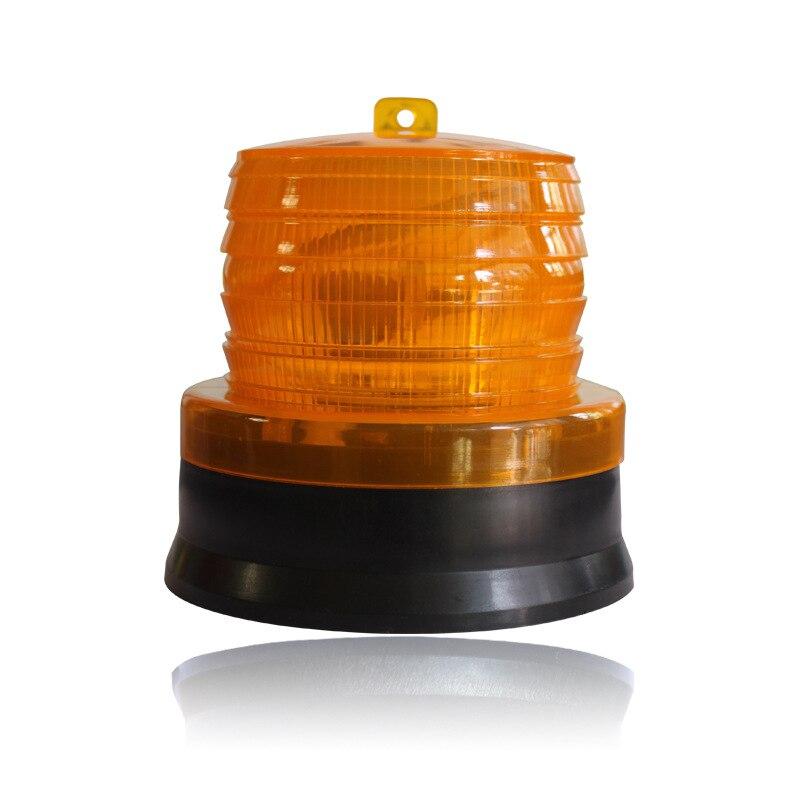 energia solar levou luz de advertencia do indicador de flash lampada luzes de advertencia de seguranca