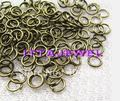 Wholesale 10000pc/lot 0.7*5cm copper open ring, jump ring,c ringjewellery finding