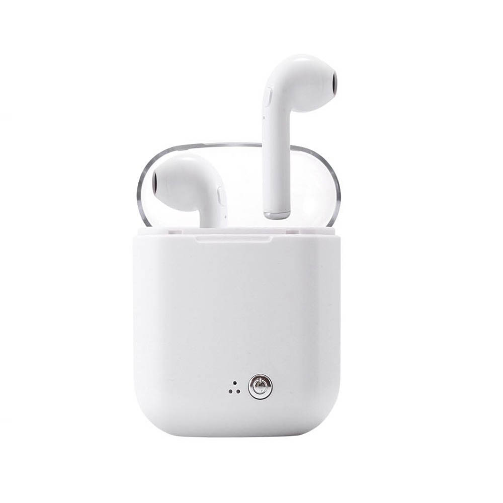 For Airpro Earpods I7 I7s TWS Wireless Bluetooth Earphones Earbuds Stereo Headset for Iphone X 6 7 8 Samsung Xiaomi Retail Box
