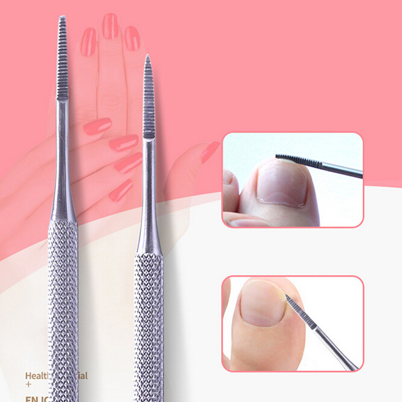 Stainless Toe Nail File Double Ended Pedicure File Satin Edge Ingrown Toe Nail Lifter Onychomycosis Paronychia Podiatry Chiropod