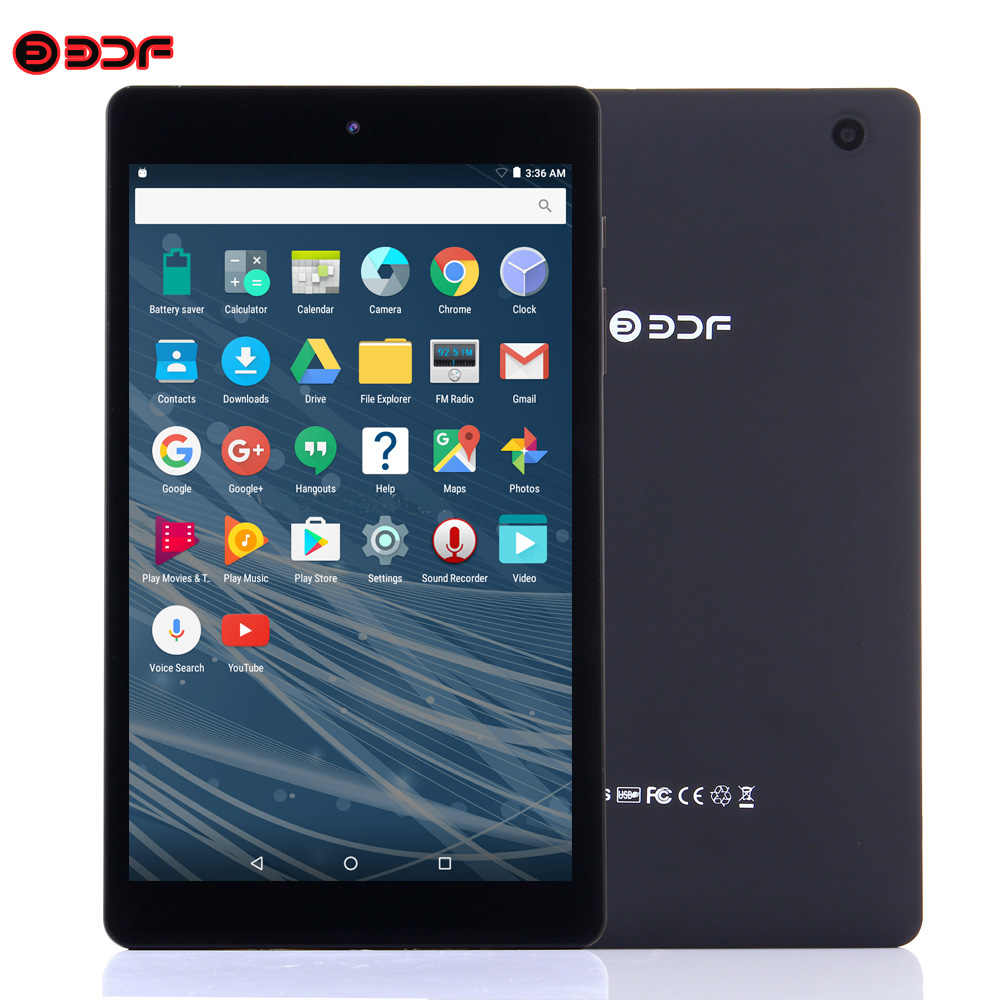 BDF Tablet 8 pulgadas Tablet Android 6,0 Quad Core 1280*800 IPS Tablet Pc 1 GB RAM 16 GB ROM video FM Bluetooth WiFi tabletas 8