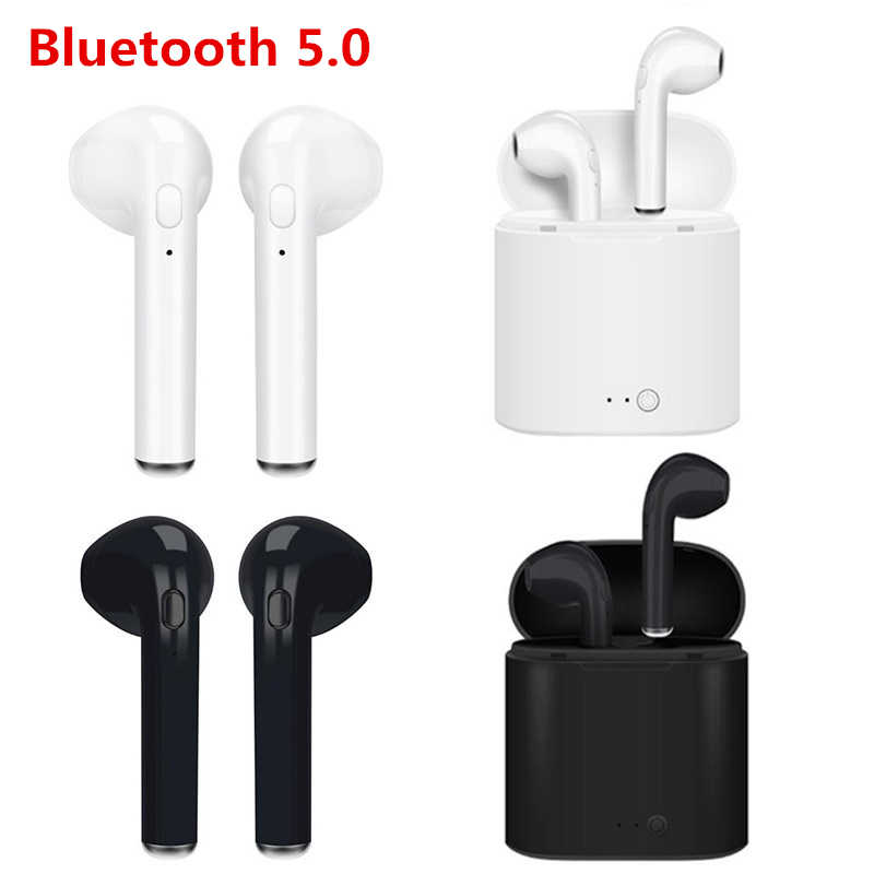 I7 I7S TWS Bluetooth 5.0 Portable TWS Wireless Earphones With Charging Box mini headsets For iPhone Samsung Xiaomi LG Huawei