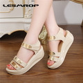Large Size 35-42 Brand New Women's Shoes Sandals Female Wedges Thick Crust Muffin Flat Shoes Student Shoes #0927
