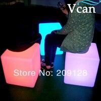 LED Lighting Cube Chair 30*30*30cm VC A300