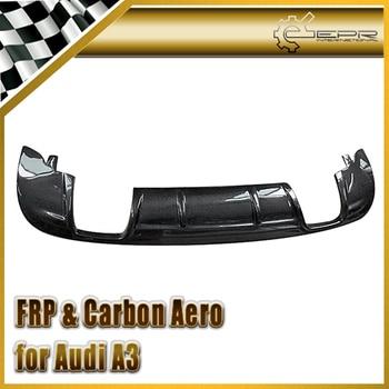 EPR Car-styling For Audi A3 2010-2013 Carbon Fiber Rear Diffuser