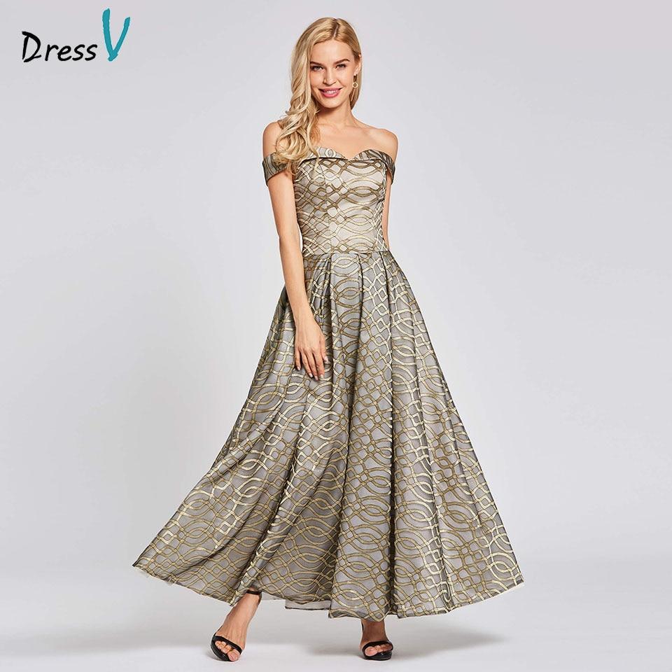 Dressv red   evening     dress   cheap off the shoulder zipper up lace a line floor length wedding party formal   dress     evening     dresses