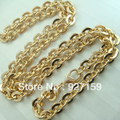 14K 14CT Gold Filled Men's 60cm Lenght 7mm Width Cool Chain Necklace N113