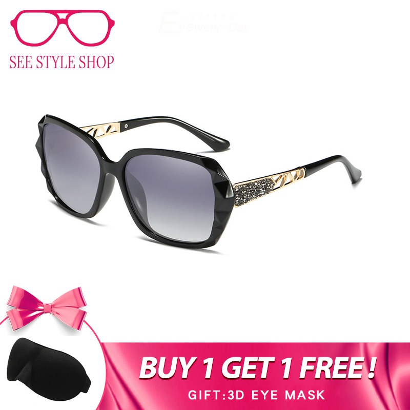 2162e1083 BENZEN Luxo Óculos De Sol Das Mulheres Designer de Marca Polarizada Óculos  de Sol Feminino UV