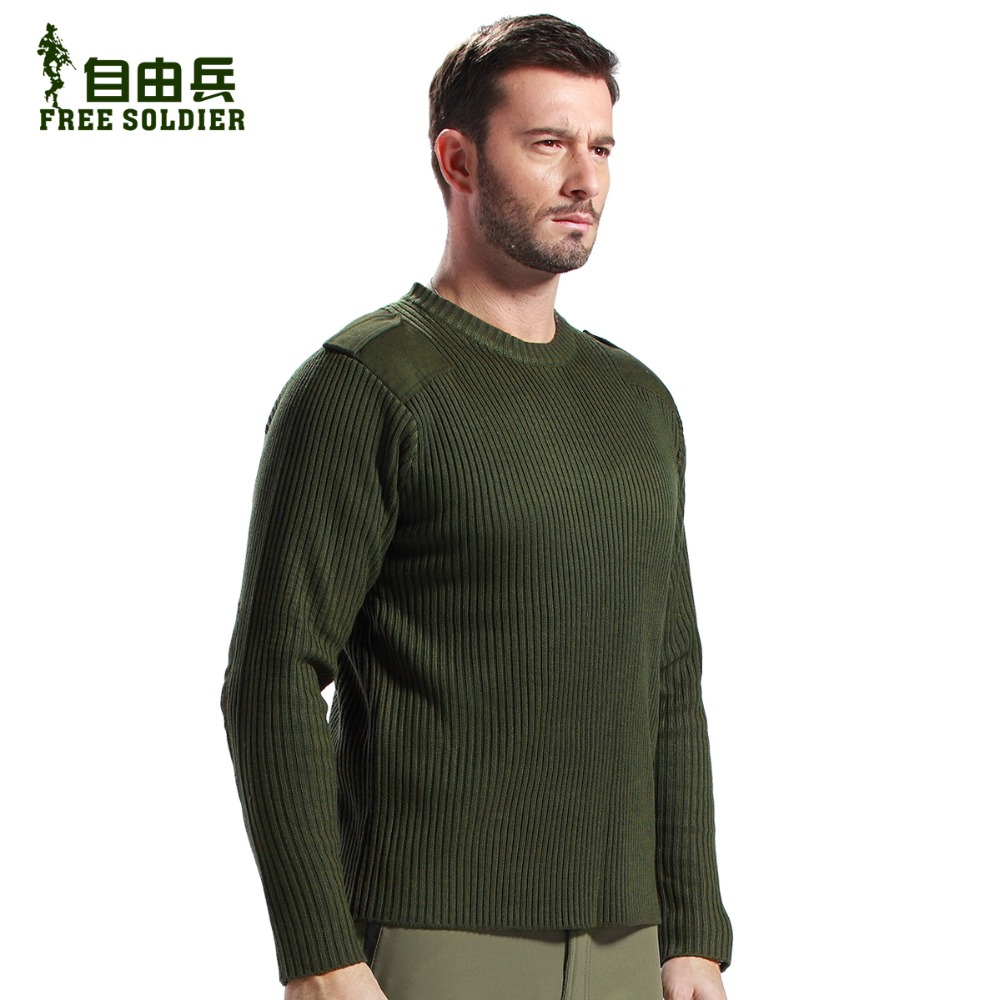 FREE SOLDIER outdoor sport camping tactical winter sweater sweater ...