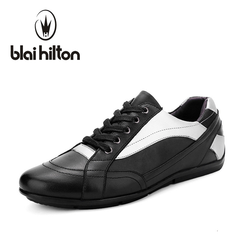 Blaibilton Brand men casual shoes Luxury Genuine Leather Male Footwear Patchwork Fashion Designer Breathable Mens Shoes SD101 2017 italy new brand designer golden genuine leather casual men shoes goose all sport star breathe shoes footwear zapatillas