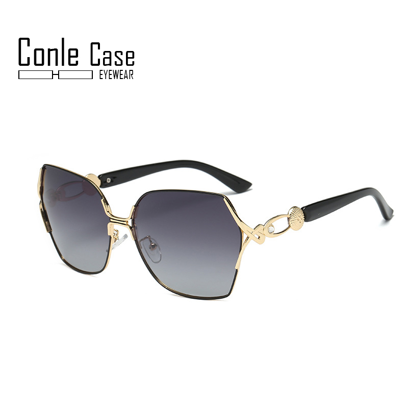 Luxury Womens Designer Aviator Sunglasses Driving Eyewear Case