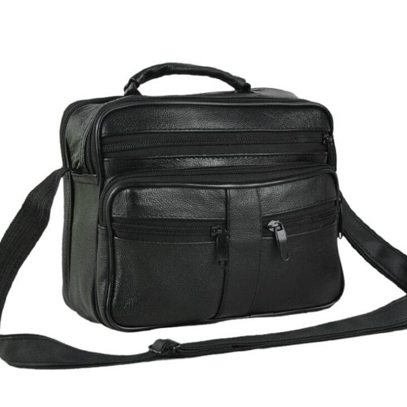 Pu Leather Men's Bags Small Shoulder messenger Cross body Bags Men's Leather Bag Men Handbag Casual Small Flap