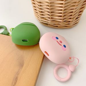 Image 4 - Case For AirPods Cute Cartoon Earphone Cases For Apple Airpods2 Accessories Protect Cover With Finger Ring Strap unique Fruit 3D