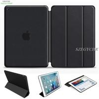 SZEGYCHX Originele 1:1 Ultra Slim Smart Cover Case Voor apple iPad mini 1 mini 2 mini 3 Smart Stand Auto Wake/Sleep met LOGO