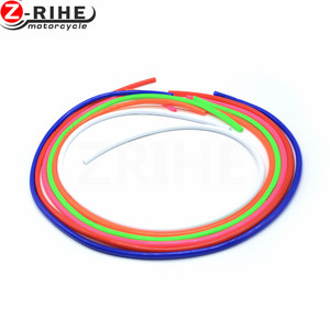 Image 4 - 2017  2018 2019 2020 1M Colorful Gas Oil Hose Fuel Line Petrol Tube Pipe For Motorcycle Dirt Pit Bike ATV Promotion Low Price