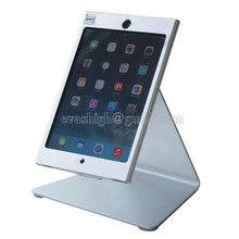 Mini iPad lockable security display stand metal tablet mounting bracket with 360 rotation head support for mini ipad 1 2 3 4