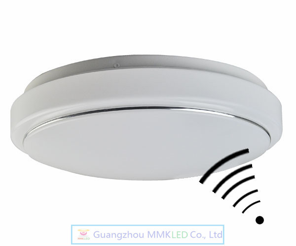 Aliexpress buy pir motion sensor 12w led ceiling light body pir motion sensor 12w led ceiling light body automatic light switch diameter 28cm ac 220v mozeypictures Image collections