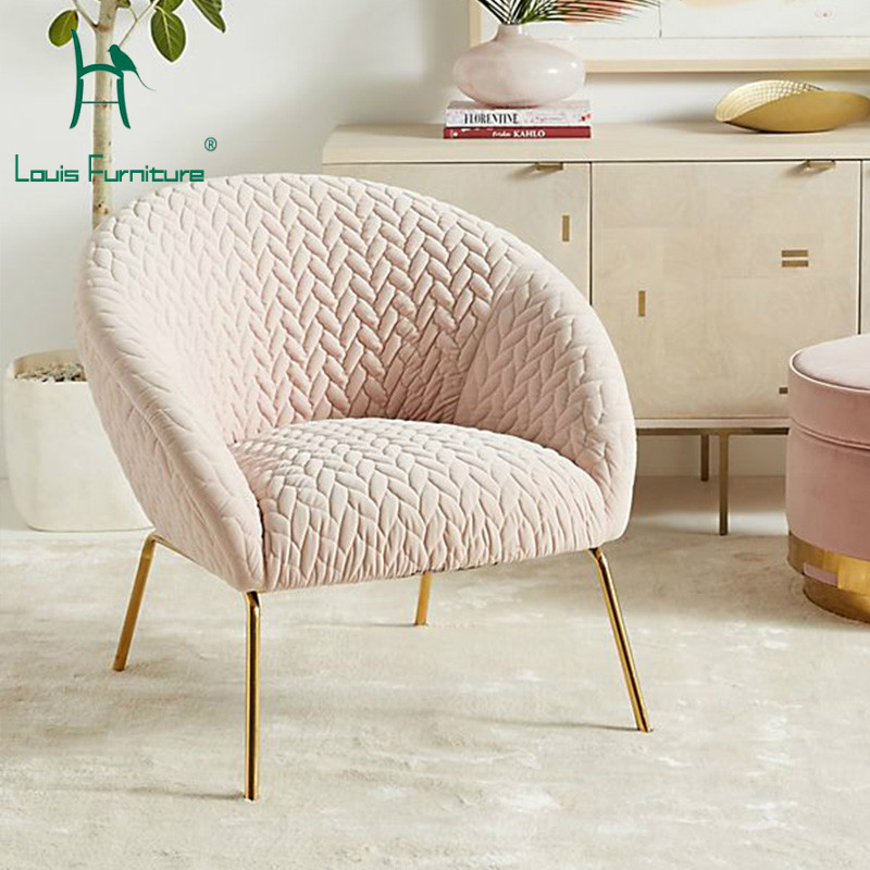 Living Room Furniture St Louis: Louis Fashion Living Room Sofas Single Person Leisure