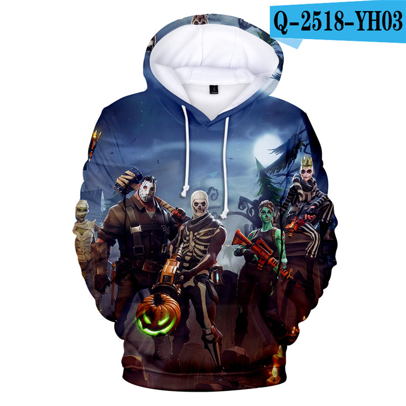 Fortniter Battle Royale Hoodie Fortnited Children Clothing Fortnight 3D Print Game Clothings Boys Children Clothing Fortnight Price $19.98