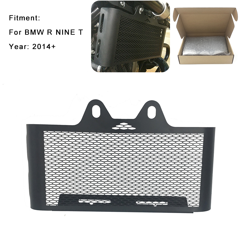 For BMW R Nine T R9T 2014 2015 2016 2017 Radiator Grille Oil Cooler Guard Cover Protector New R 9 T / Rnine t 2014-2017 motorcycle radiator grill grille guard screen cover protector tank water black for bmw f800r 2009 2010 2011 2012 2013 2014
