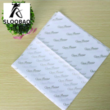 Free shipping Custom brand logo name printed gift garment shoes tissue wrapping paper wrap