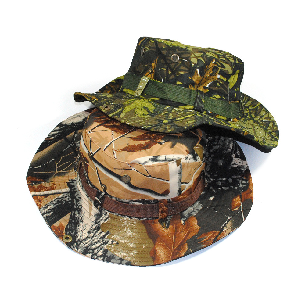 US $4 99 |Bucket Hats Camouflage Bonnie Hat SWAT Army Jungle Sun Visor Caps  Montana Round Hats Hunting Hiking Fishing Caps Combat Hat-in Men's Bucket
