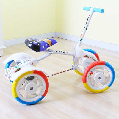 Children s toys on a stationary bike bicycle boys and girls children