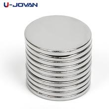 U-JOVAN 10 шт. супер мощная маленький круглый NdFeB редкоземельных Неодимовый магнит 10×1 мм 10×1 мм N50