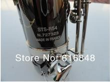 new STS-54 salesselmer Henry Reference 54 tenor saxophone Bb surface black nickel plating saxophone