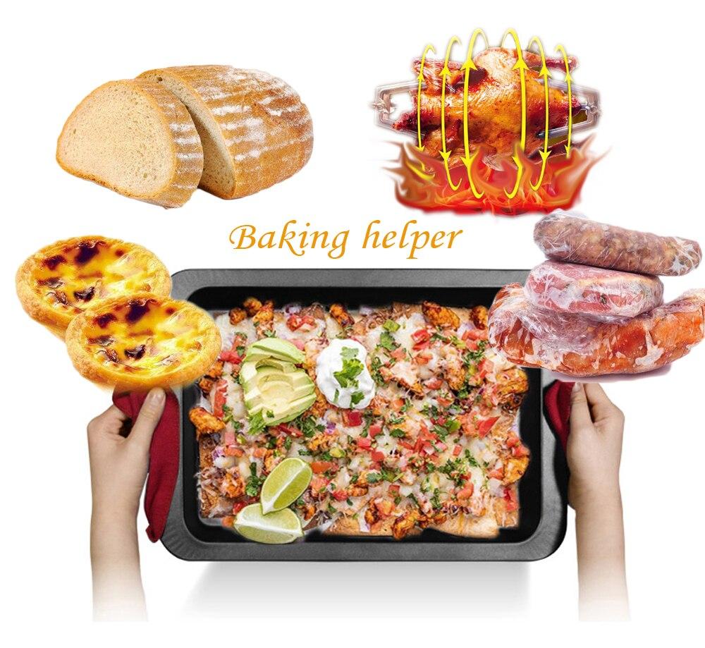 ITOP électrique ménage four Pizza pain Kebab multifonctionnel cuisinière EU Plug 5 Mode de cuisson peut être choisi - 6