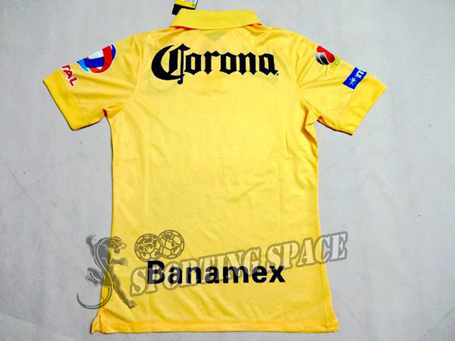 b1969699a0c Club America Jersey 2015 Third Green O PERALTA SAMBUEZA Soccer Jersey 14 15  Home Yellow Away Black America Football Shirt 3RD on Aliexpress.com