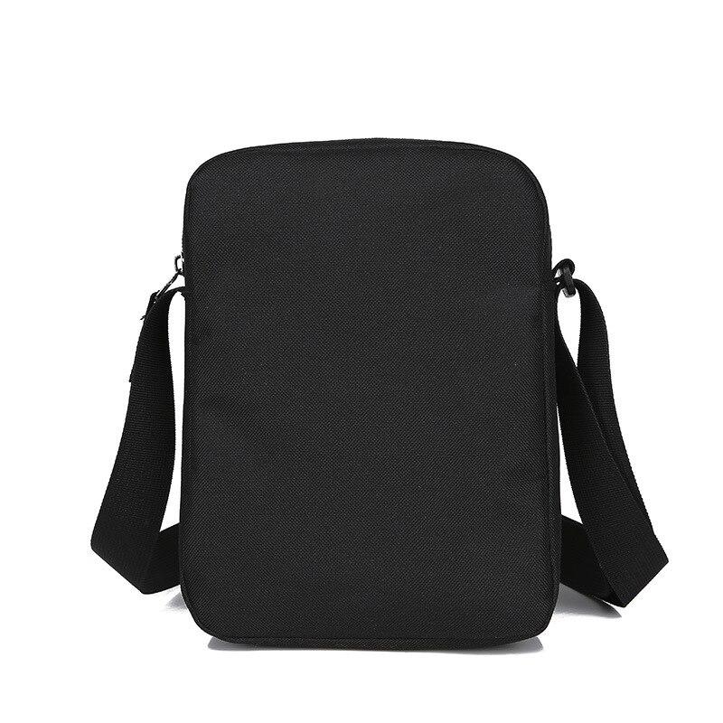 Simple marca en el pecho de los hombres bolsas pequeñas de los hombres de la lona bolsa de mensajero bolsas de Nylon
