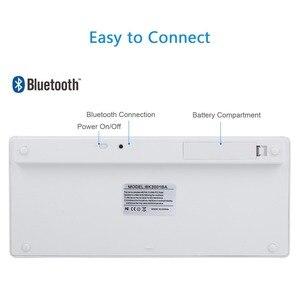 Image 5 - ロシアフランス語アラビア語スペイン語ワイヤレスキーボード用の bluetooth 3.0 キーボード iPad のタブレットノート Pc サポート Ios システム
