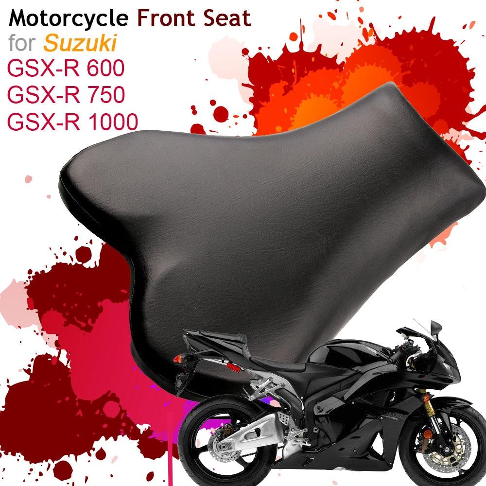 Motorcycle Front Driver Rider Seat for Suzuki GSXR 600/750/1000 GSXR600 GSXR750 GSXR1000 Seats Leather Cushion