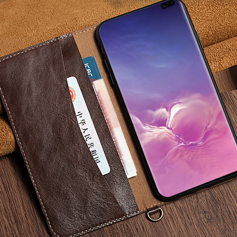 Image 4 - YISHANGOU cases For Samsung Galaxy S10 Plus S10E Note 9 Genuine 