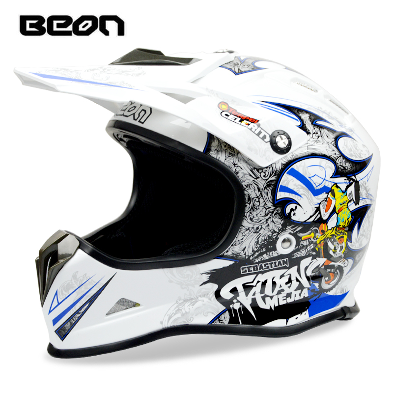 BEON ATV Motocross Helmet Motorcycle Off road Racing Dirt bike MTB DH Helmets Motos Casque Casco