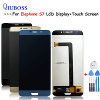 Black/Blue/Gold For Elephone S7 LCD Display and Touch Screen Assembly Screen Digitizer Replacement Tools For S7 lcd