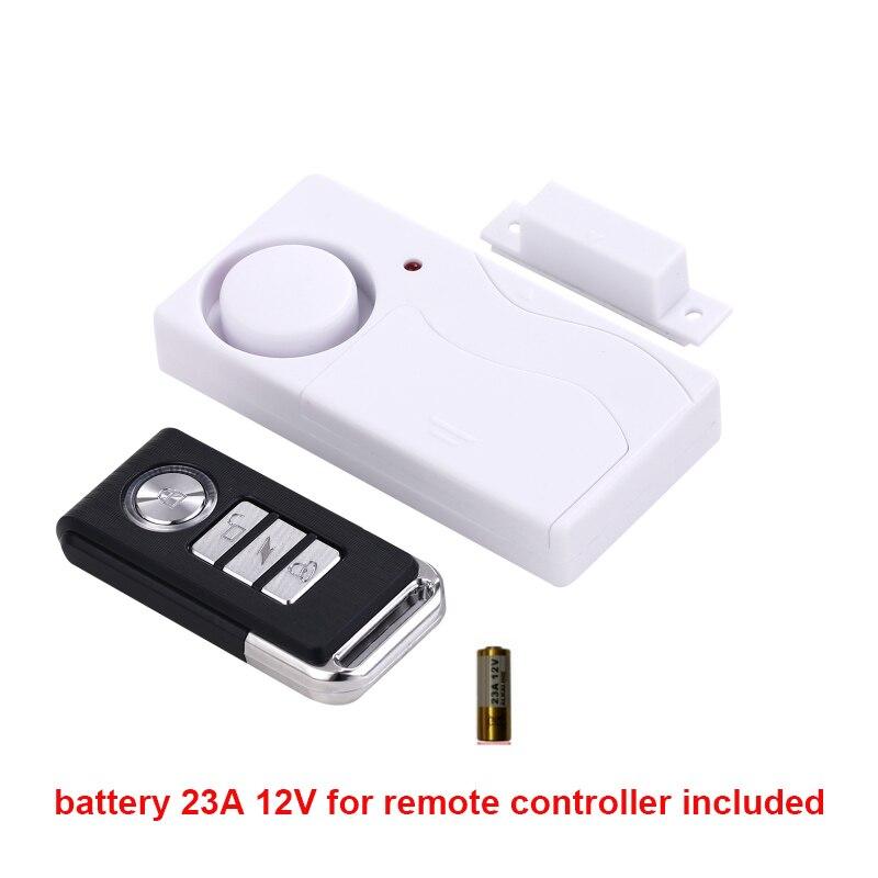 remote control door sensor alarm 105db siren illegal entry alarm doorbell function alarm door alarm
